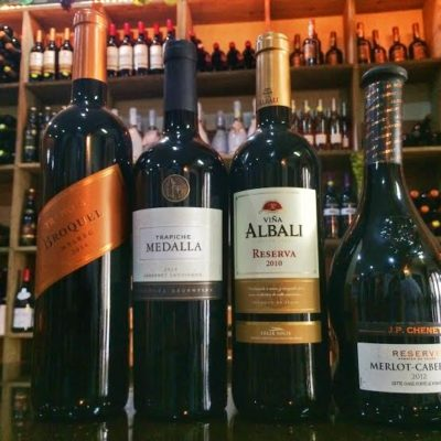 Some of the Wine Selection