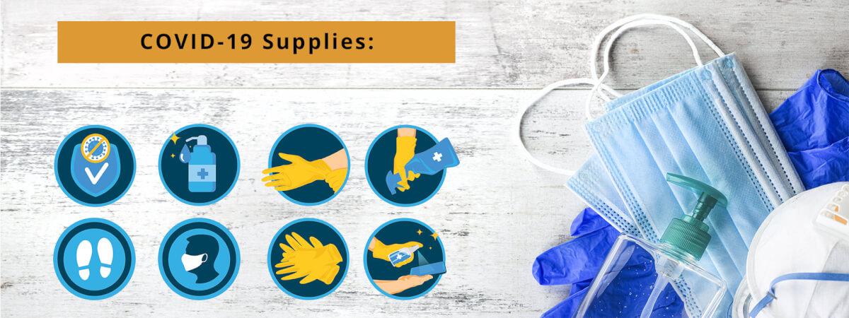 Header | COVID-19 Supplies